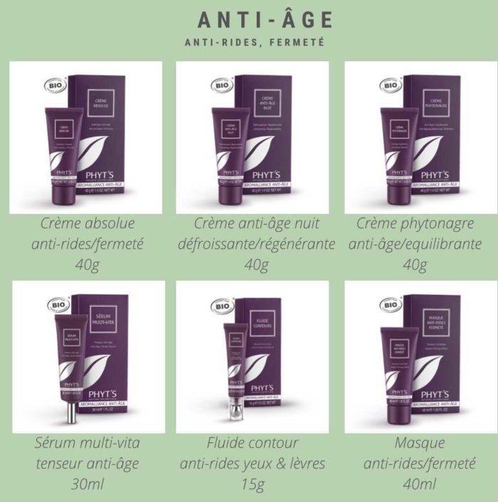 soin visage anti age
